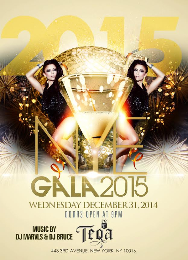 New Years Eve Party at Teqa