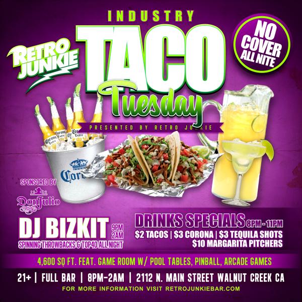 Taco Tuesday W Dj Bizkit Beer Pong 2 Tacos 3 Coronas