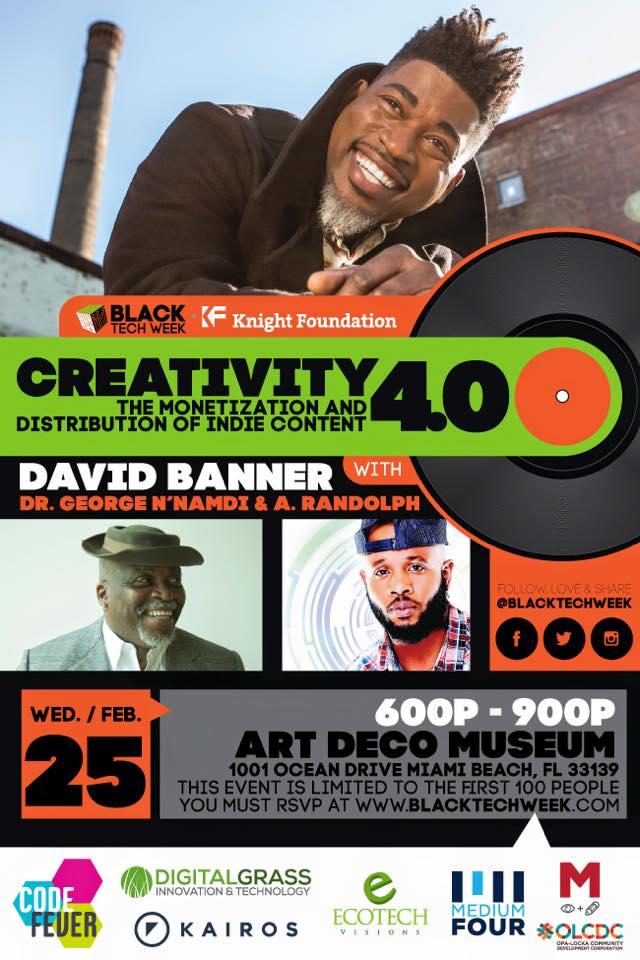 David Banner-Black Tech Week