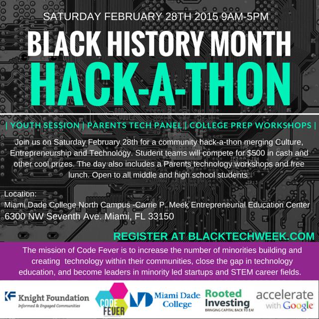 black history month hackathon