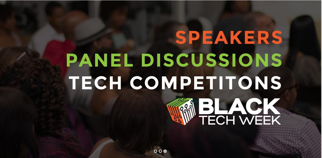 black tech week banner