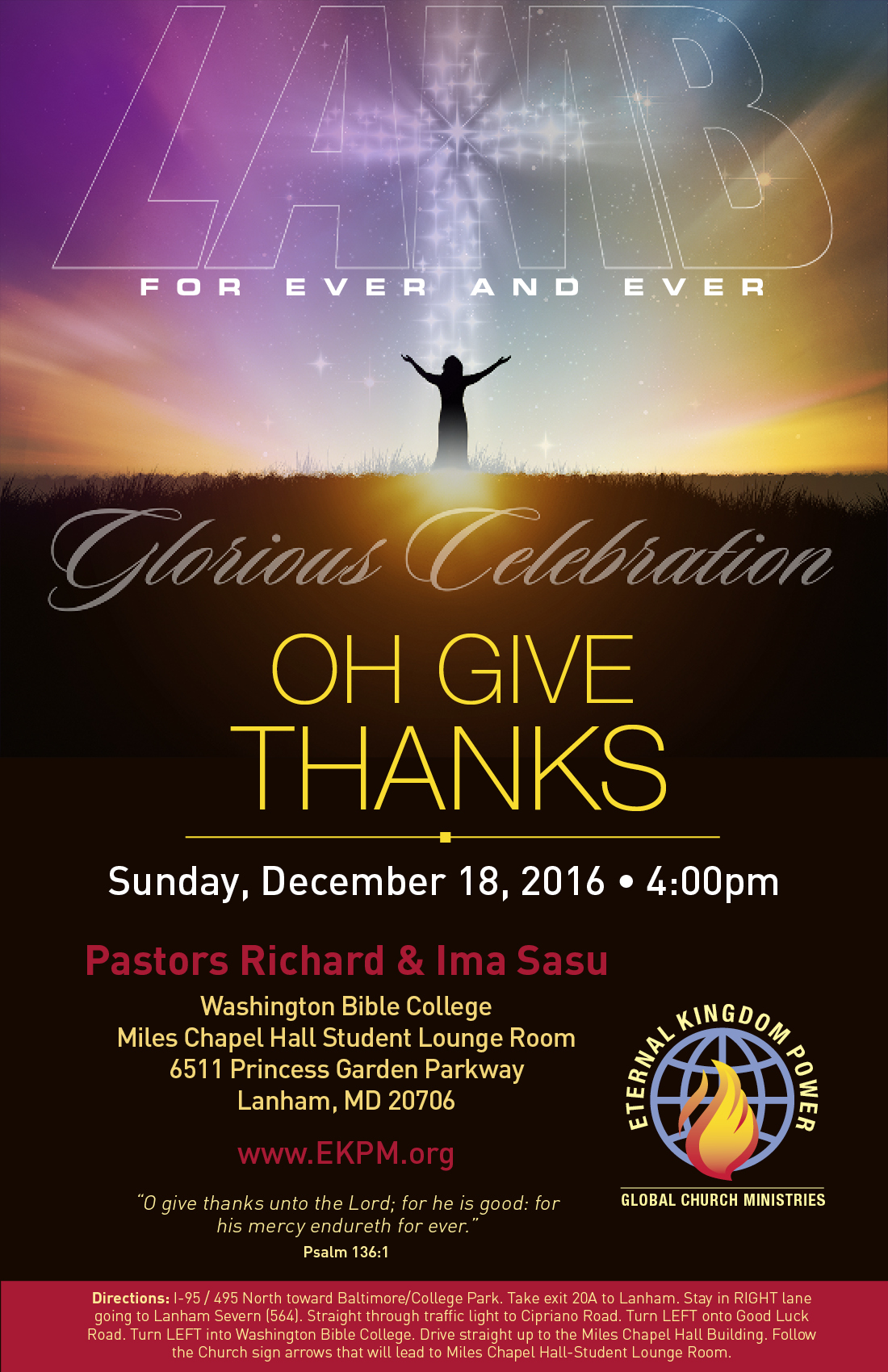 Oh Give Thanks Revival Service