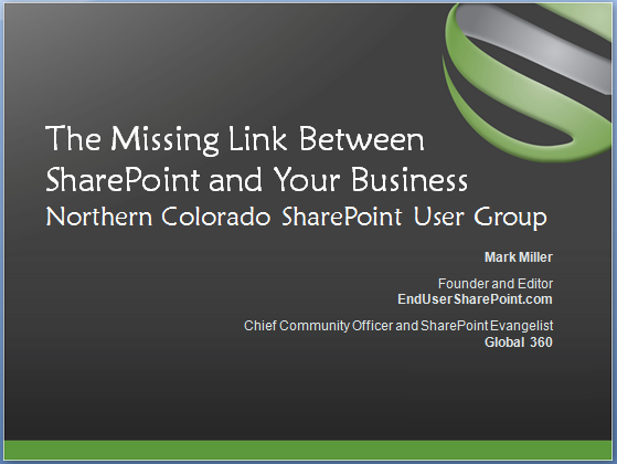 The Missing Link Between SharePoint and Your Business