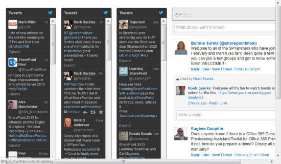 SharePoint Social Media Dashboard