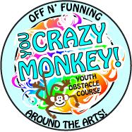 crazy monkey badge