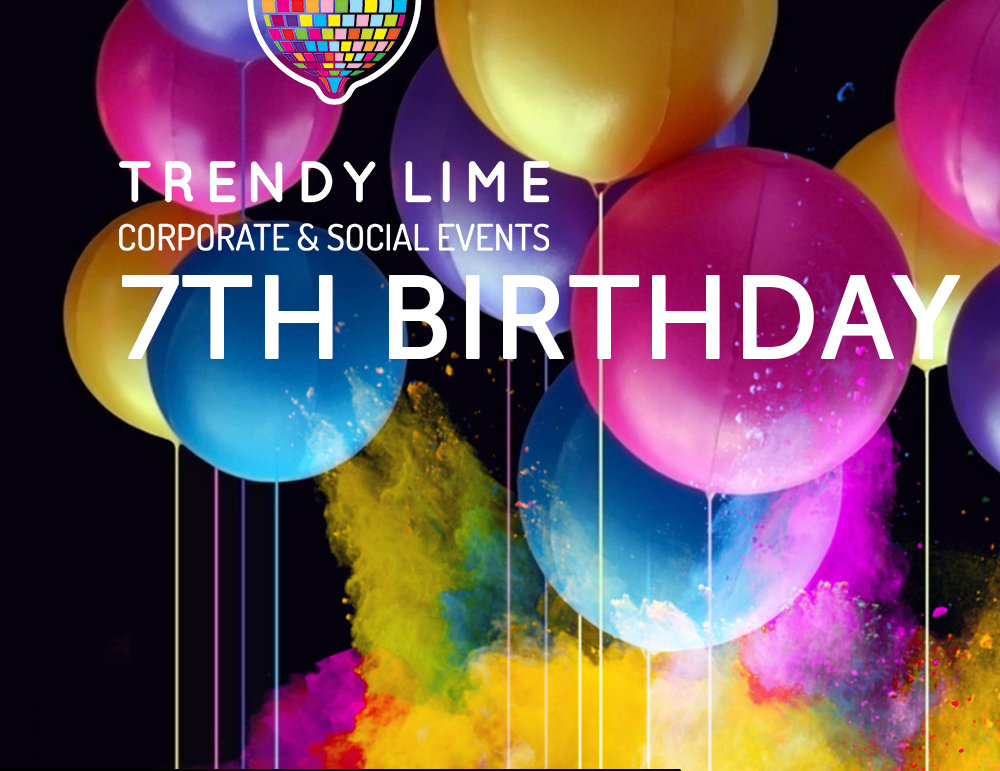 Trendy Lime 7th Anniversary
