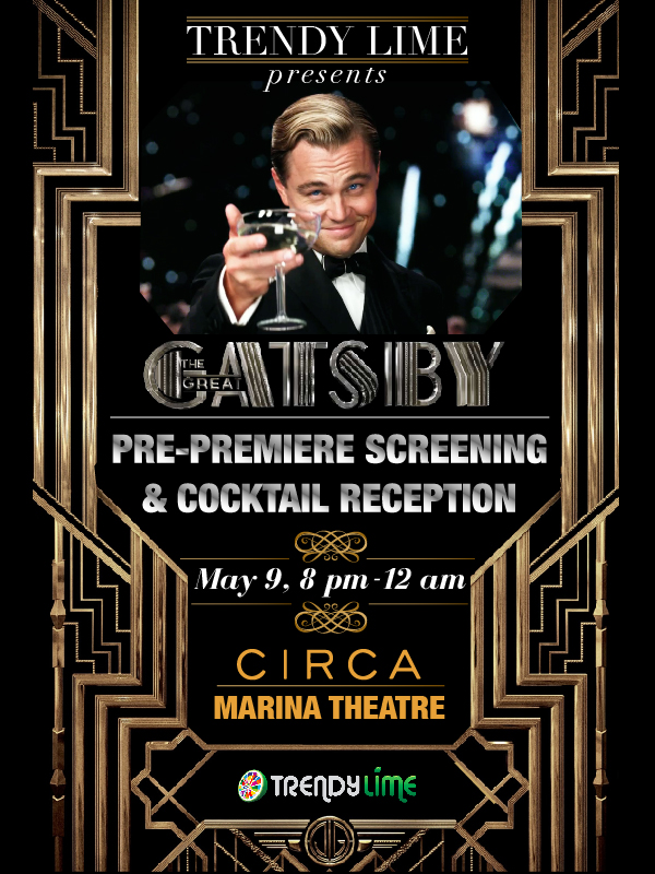 Great Gatsby Premiere Trendy Lime