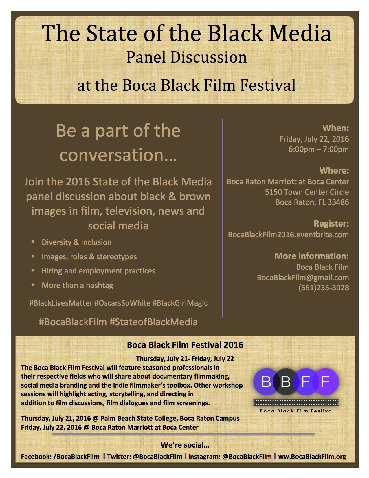 The State of the Black Media Panel Discussion