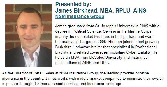 James Birkhead, MBA, RPLU, AINS