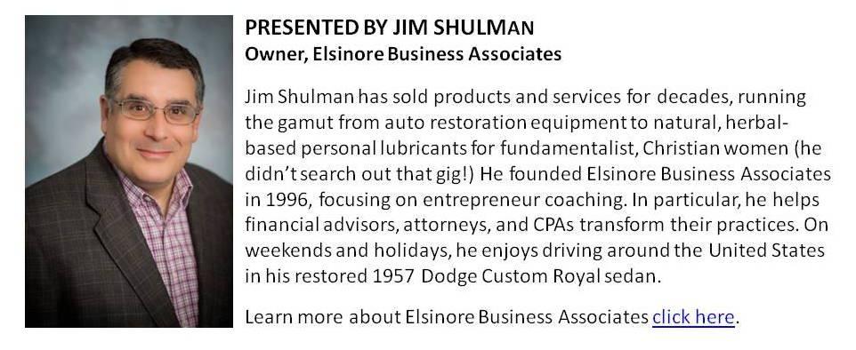 Jim Shulman's Bio