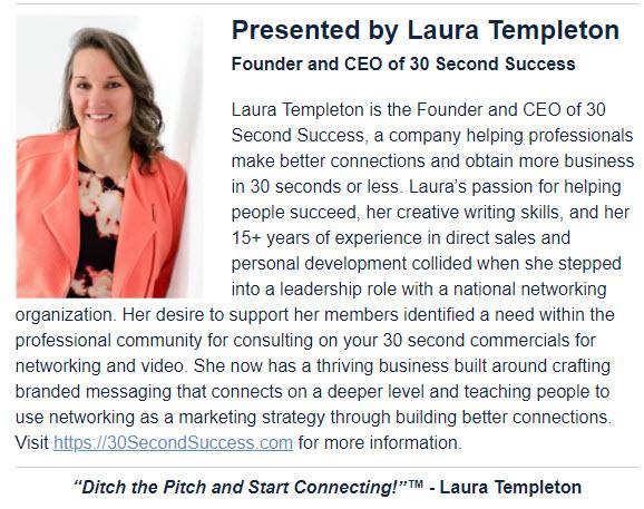 Laura Templeton, CEO