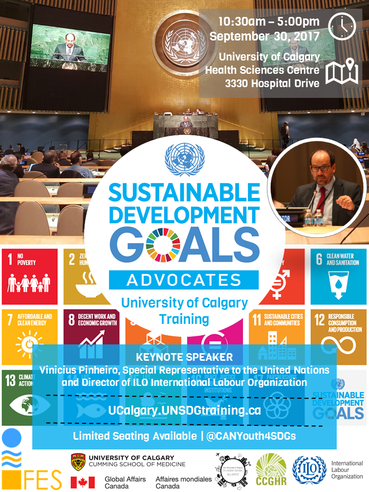 09.30.2017 UCalgary SDGs Youth Training Poster