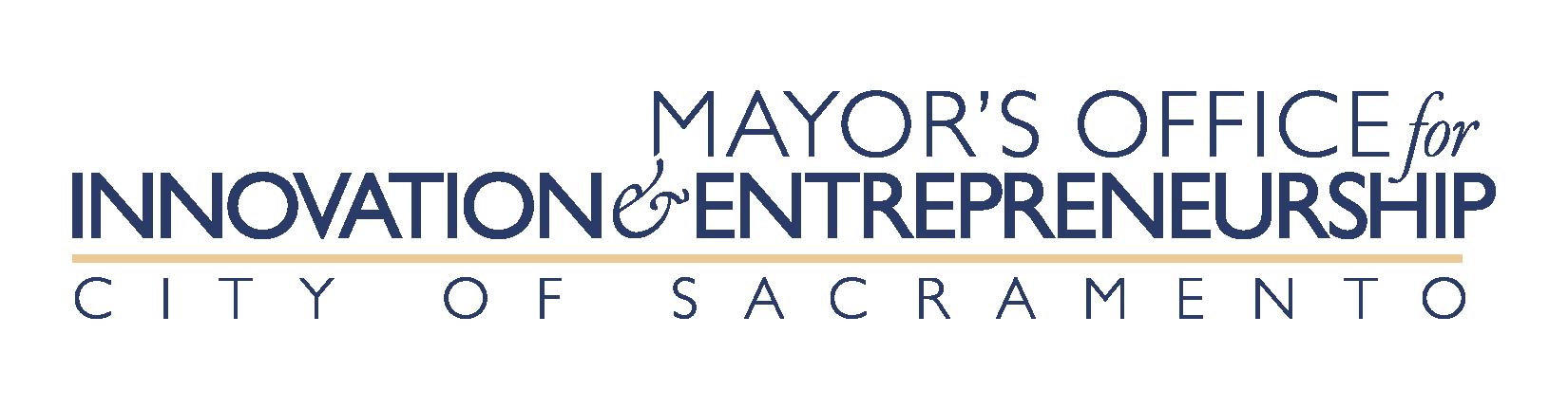 Sacramento Mayor's Office for Innovation & Entrepreneurship