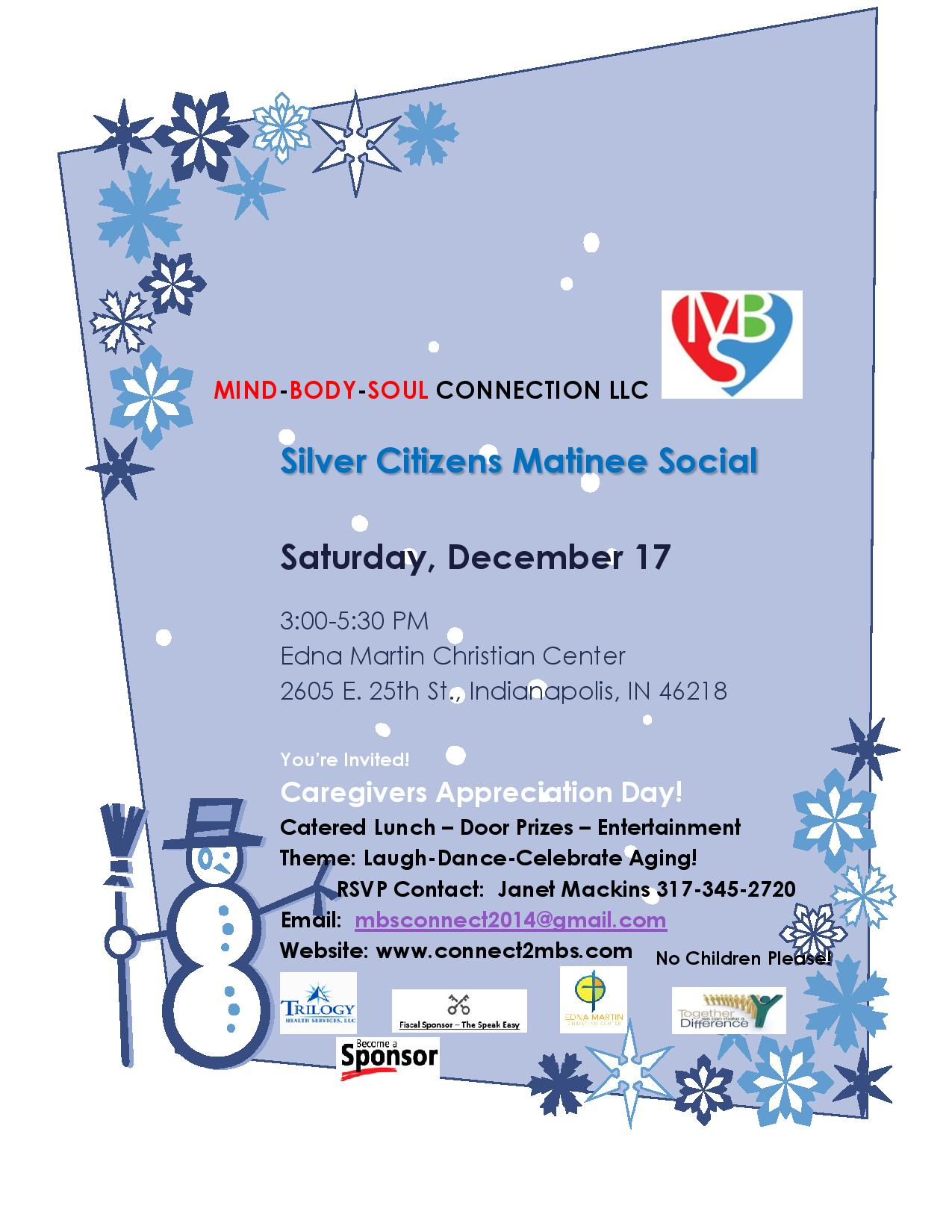 Silver Citizens Matinee Social Event