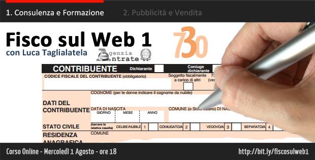 Fisco sul Web 1