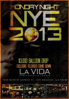 Hollywood NYE 2013 EXCLUSIVE $3,000 Balloon Drop Party