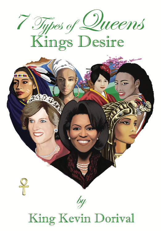 7 Types of queens kings desire book cover