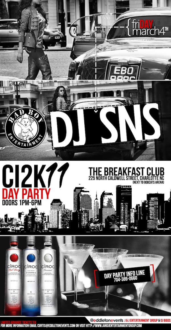 CIAA Day Party featuring Bad Boy Entertainment DJ SNS