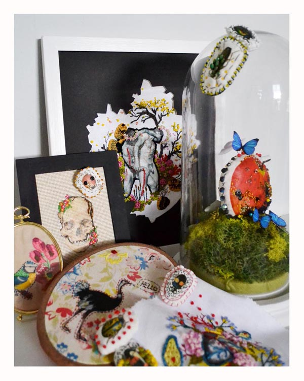 Examples of creative embroidery
