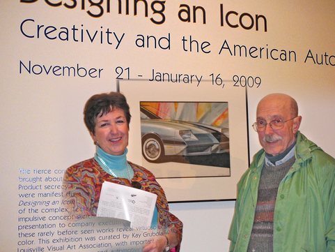 Kay Grubola and Bill Porter