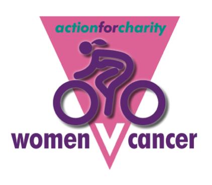 Description: AFC WOMEN V CANCER LOGO