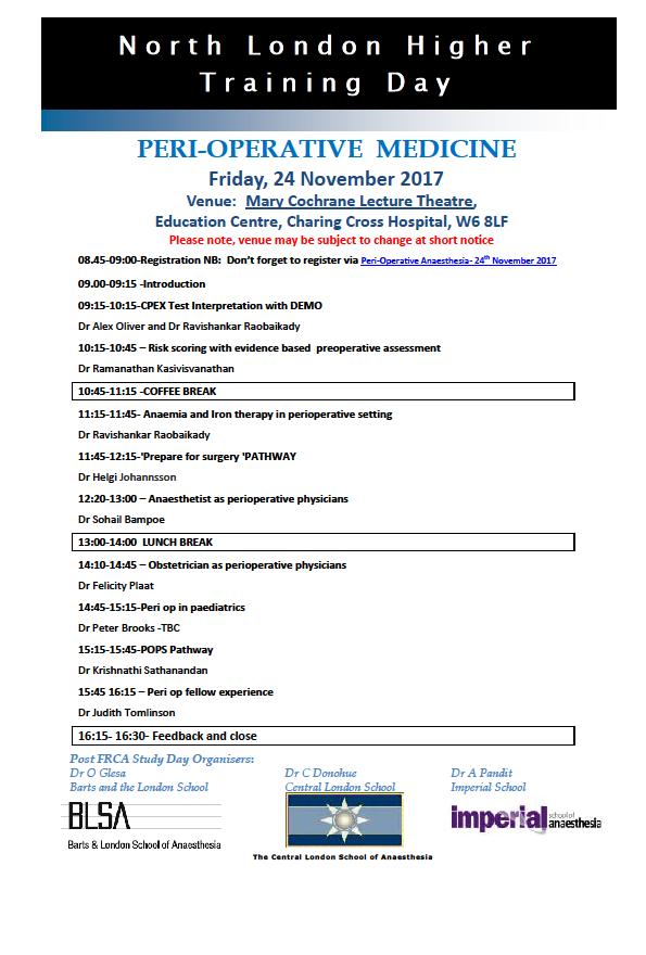 Programme - 24th November 2017
