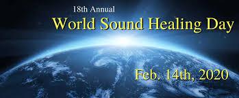 World Sound Healing Day 2020 Banner