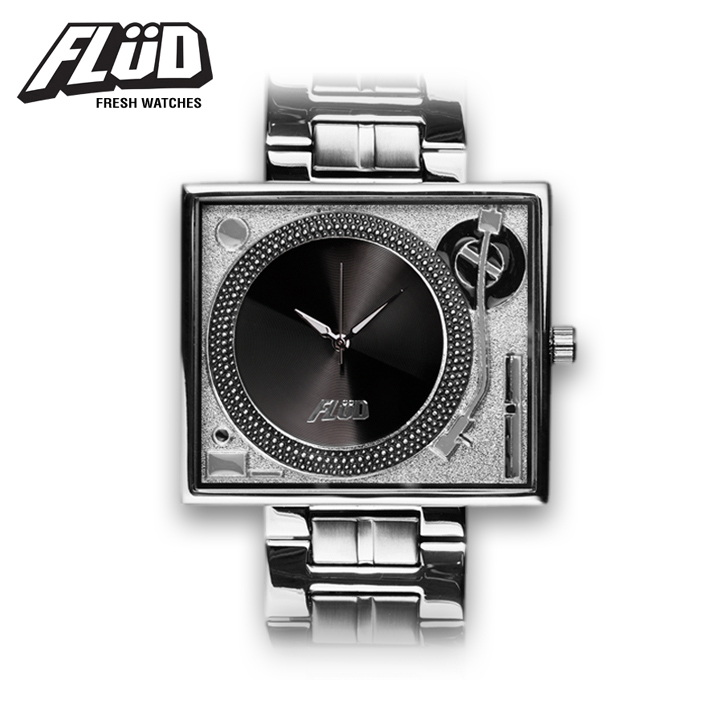 Flud Watches Supports Black Ice 2011