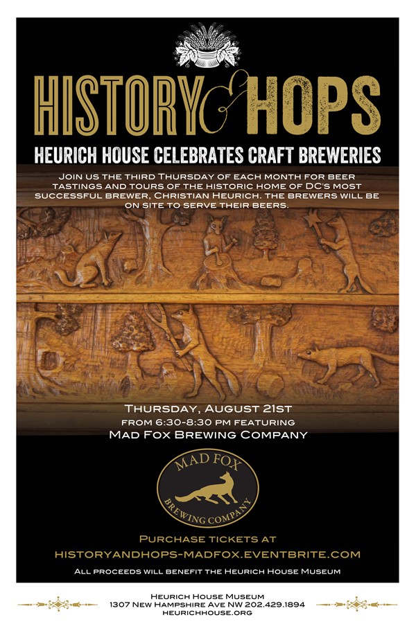 History & Hops poster