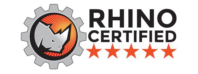 Rhino Certified seal