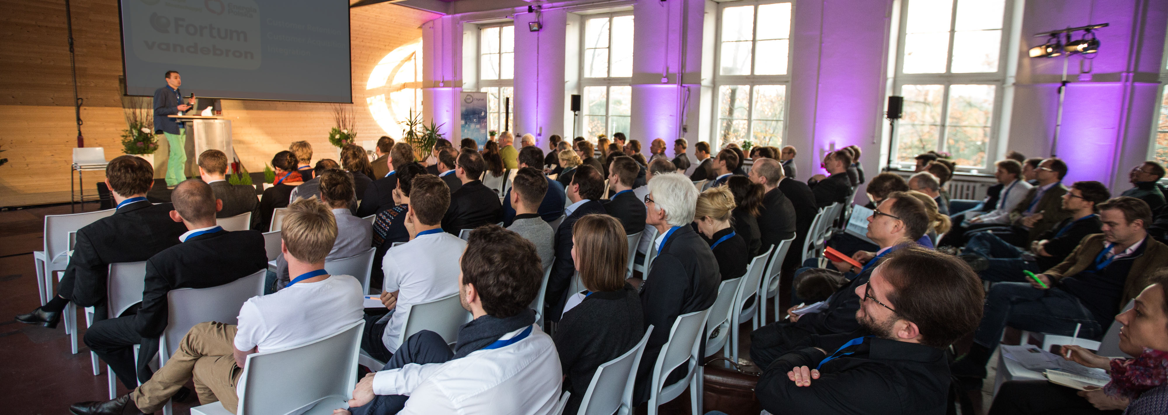 Audience at EIT Digital Event