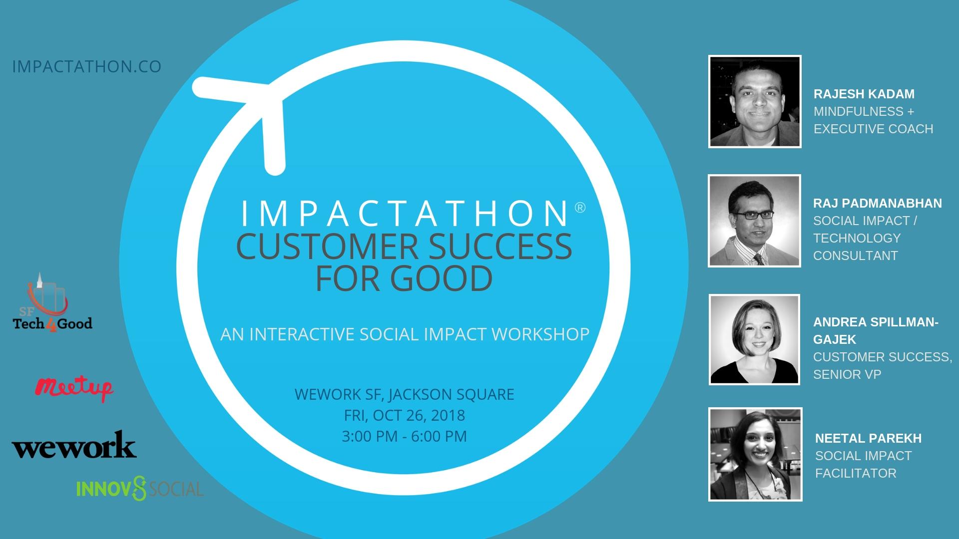 Impactathon Customer Success for Good