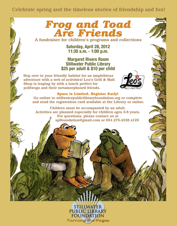 Frog and Toad Event