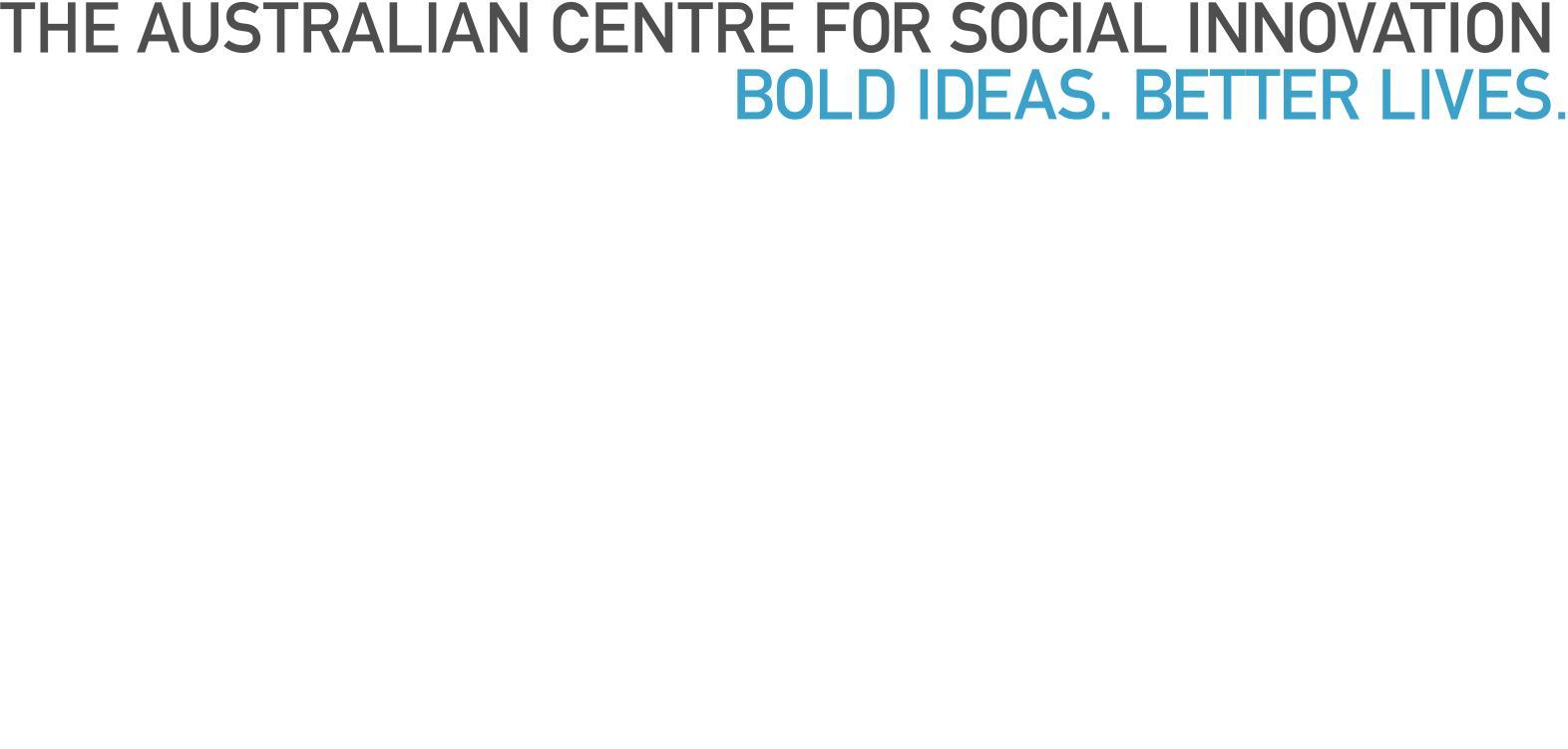TACSI Logo - Bold Ideas Better Lives