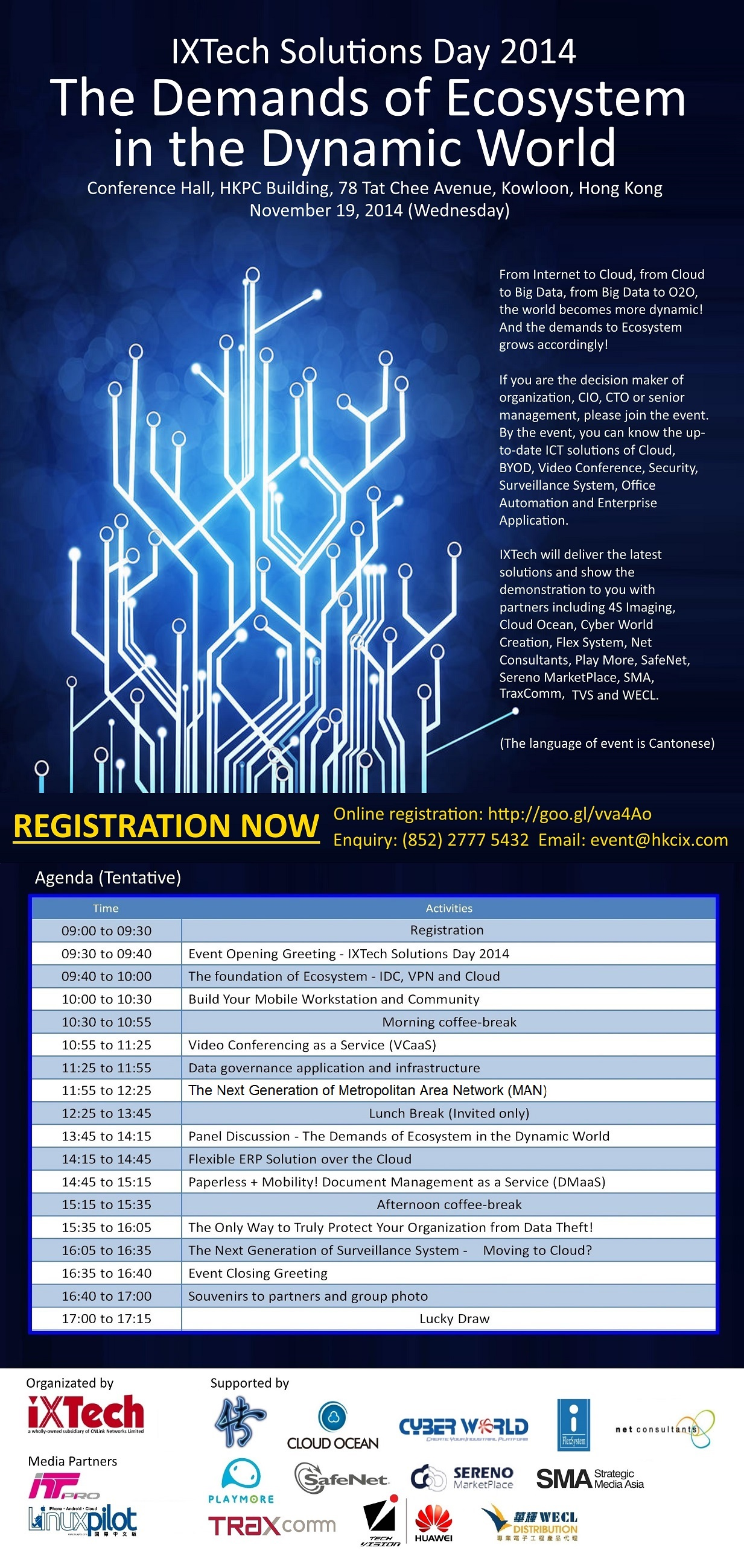 IXTech Solutions Day 2014 - The Demands of Ecosystem in the Dynamic World