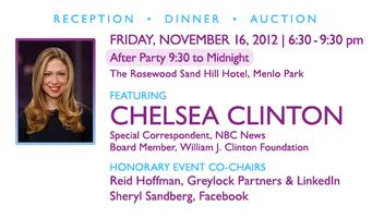 2nd Annual igNITE Gala with Chelsea Clinton
