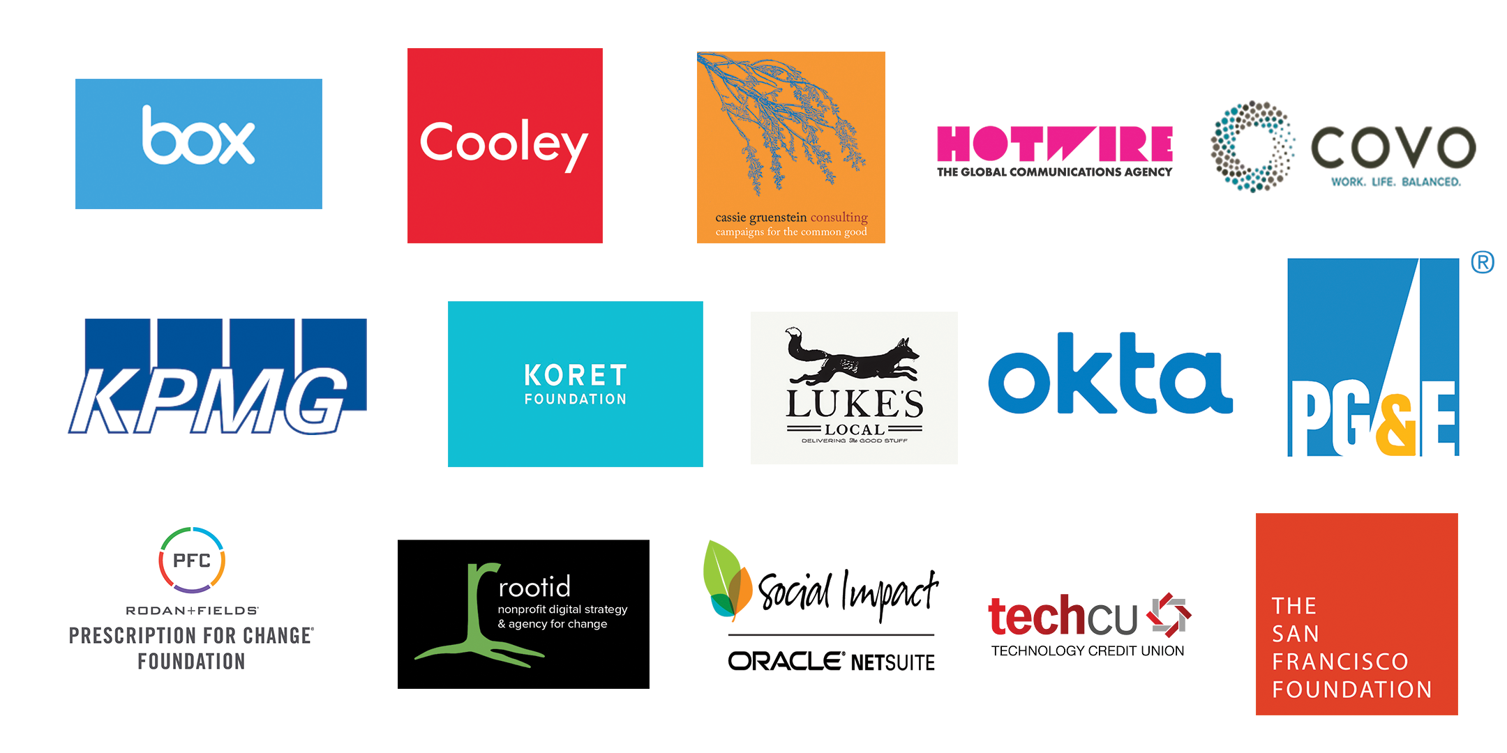 2019 Sponsor Logos