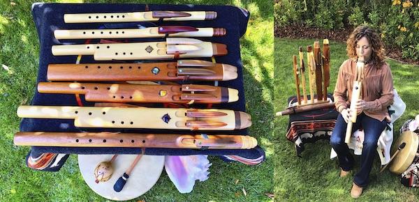all native flutes