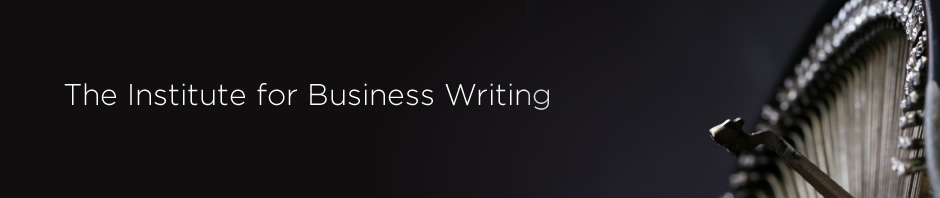 The Institute for Business Writing logo