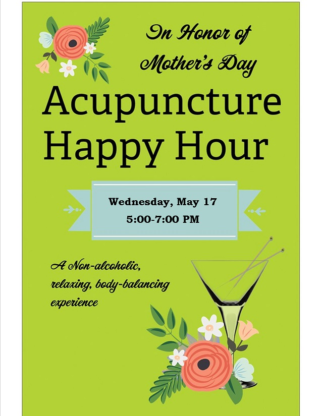 Acupuncture Happy Hour mom
