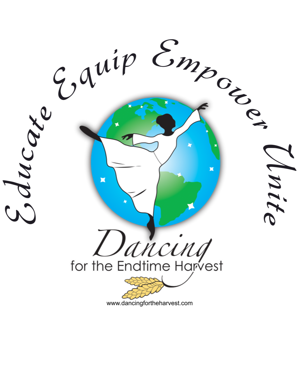 Dancing for the Endtime Harvest logo