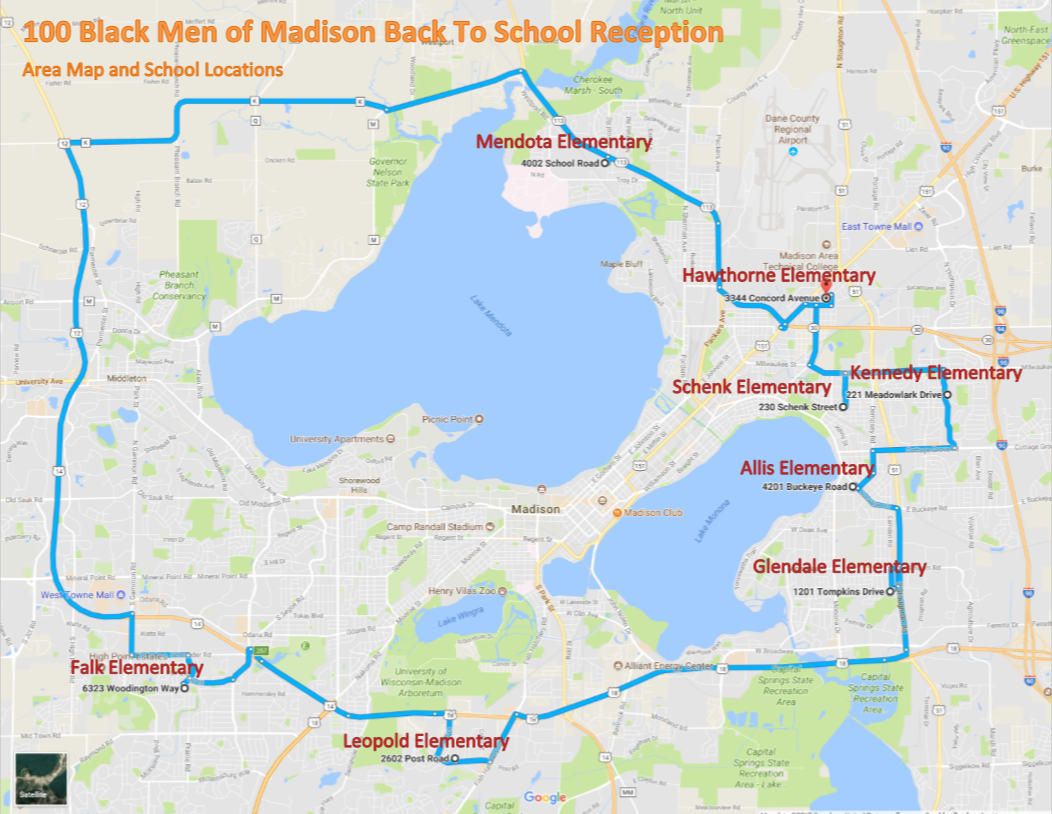 WBTS 2017 Map of Schools