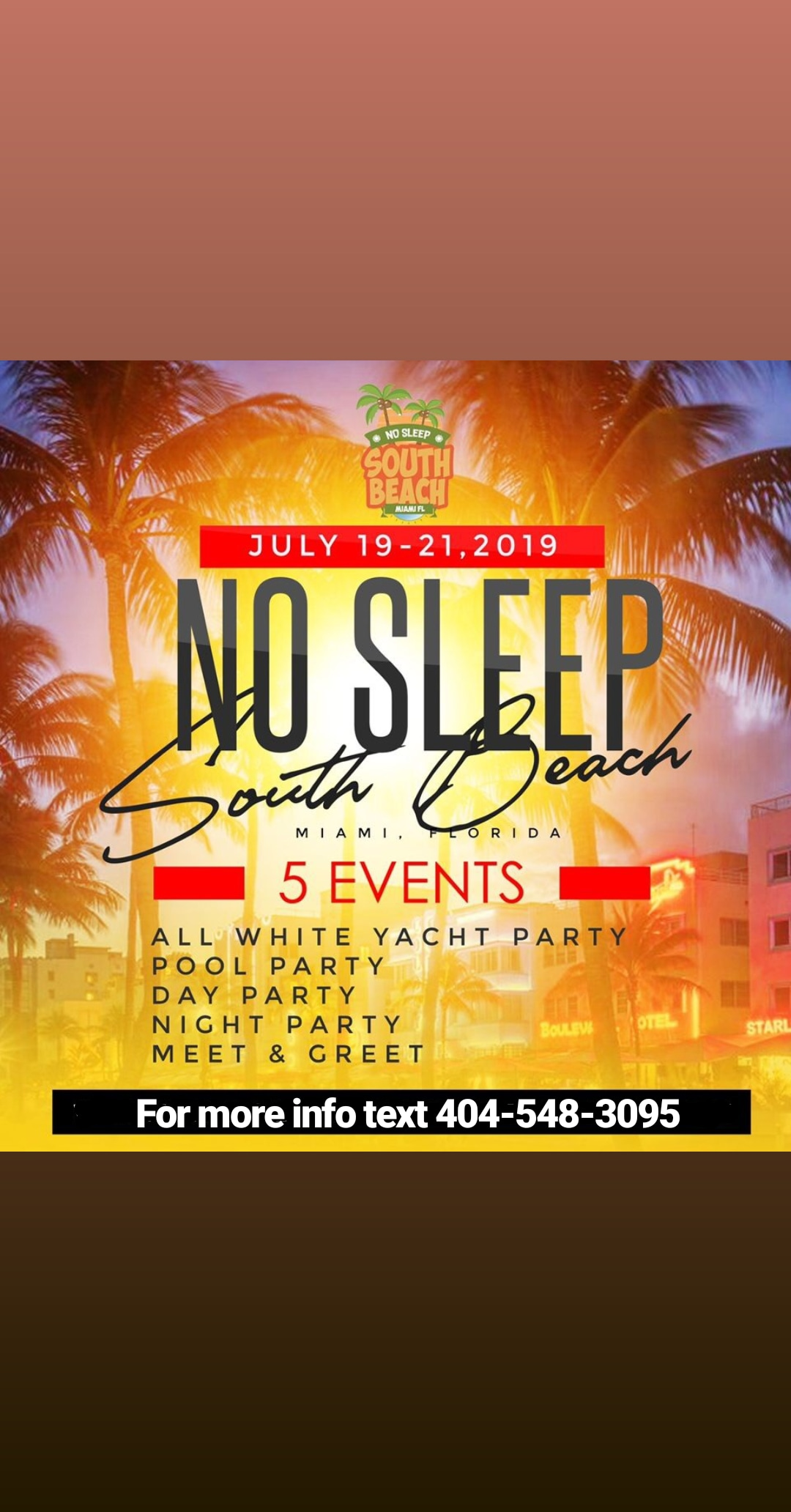SOUTH BEACH NO SLEEP WEEKEND! 3 DAYS   5 PARTIES! LIVE from South ... bd08692b9