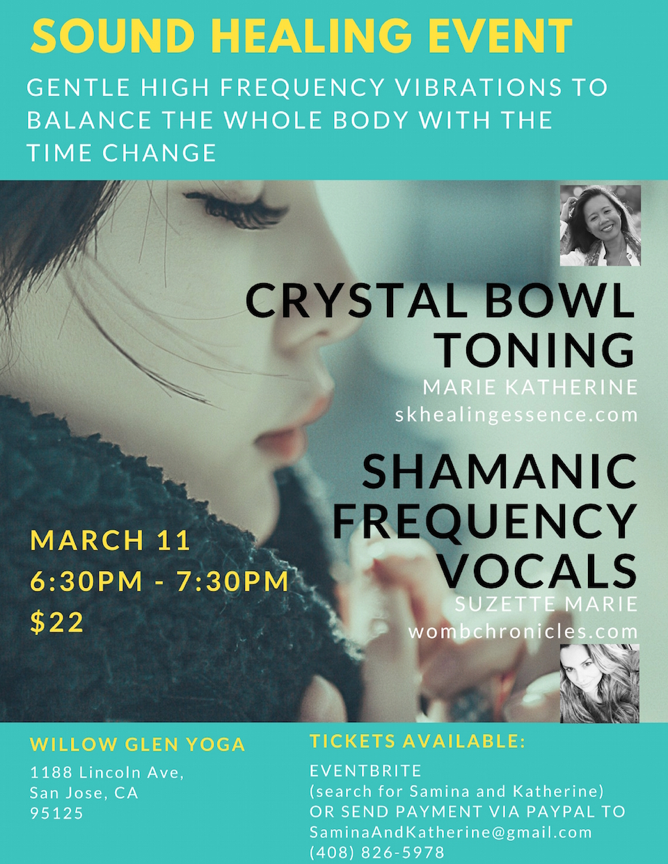 Sound Healing Spring Forward