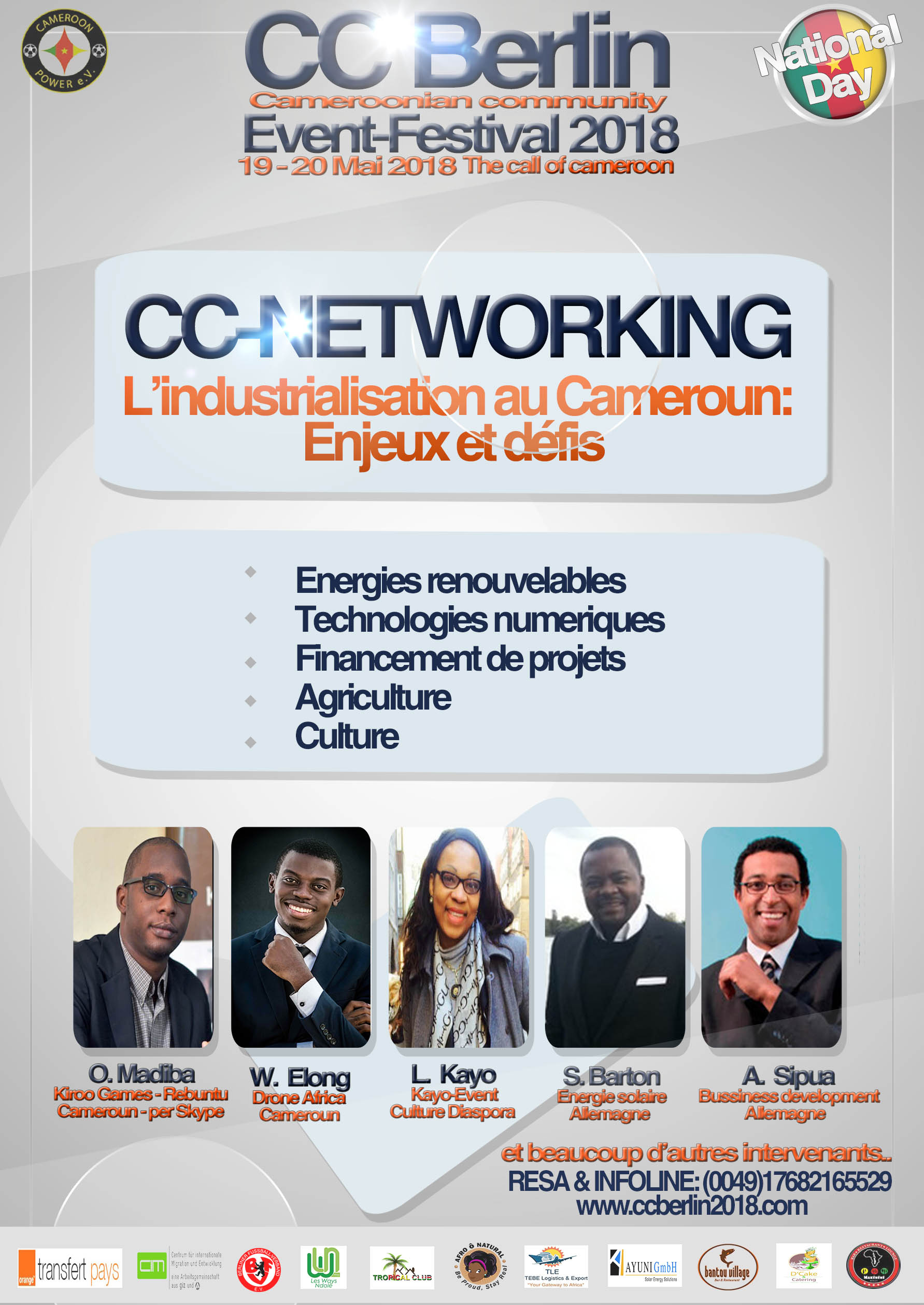 CC NEtworking: Industrialization in Cameroon