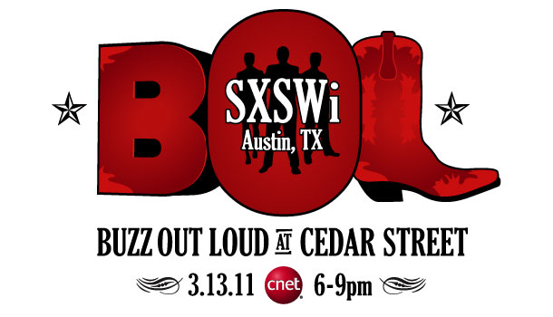 Buzz Out Loud CNET at SXSW 2011