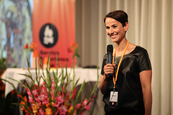 Christina Bilde from Roskilde Festival at the Service Experience Camp