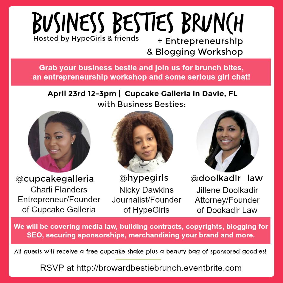 Business Besties Brunch by HypeGirls