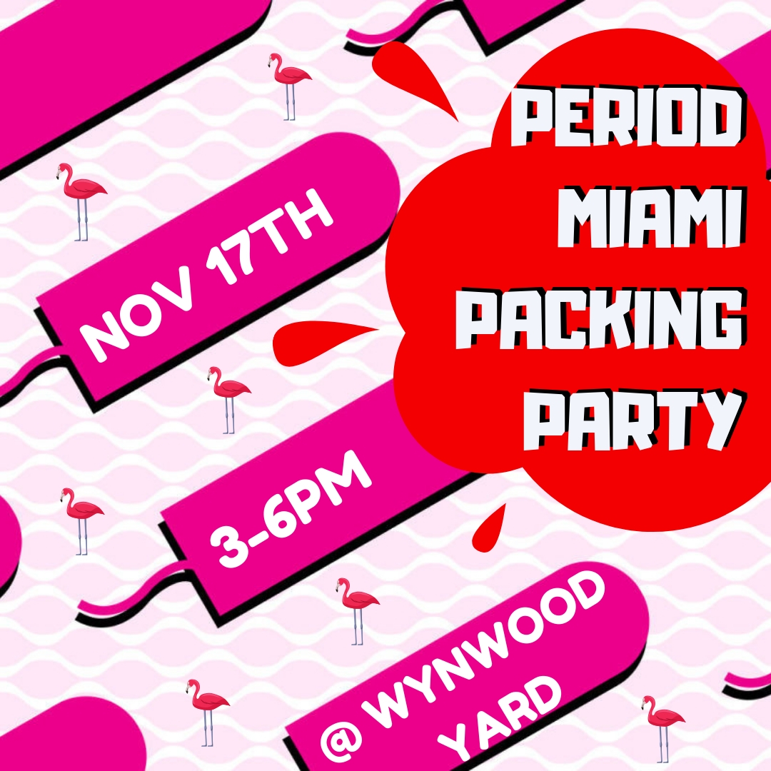 Period Miami Packing Party
