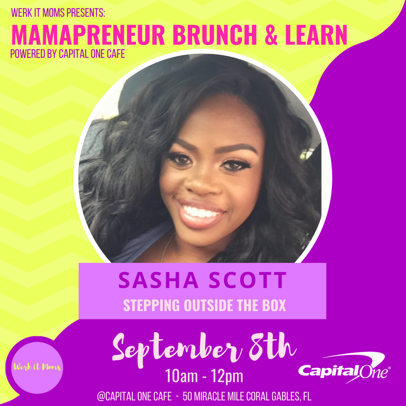 Sasha Scott Mamapreneur Brunch